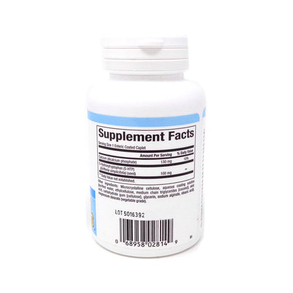 5-HTP 100mg by Natural Factors - 60 Enteric Coated Caplets