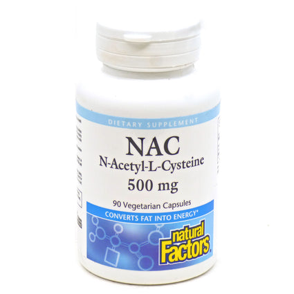 N- Acetyl Cysteine By Natural Factors - 90 Capsules