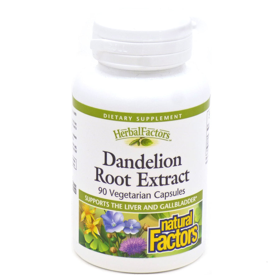 Dandelion Root Extract By Natural Factors - 90 Capsules