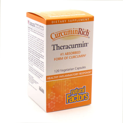 CurcuminRich by Natural Factors - 120 Capsules