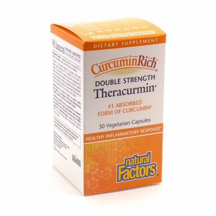 Theracurmin Double Strength by Natural Factors - 30 Capsules
