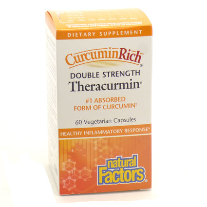 Double Strength Theracurmin by Natural Factors - 60 Capsules