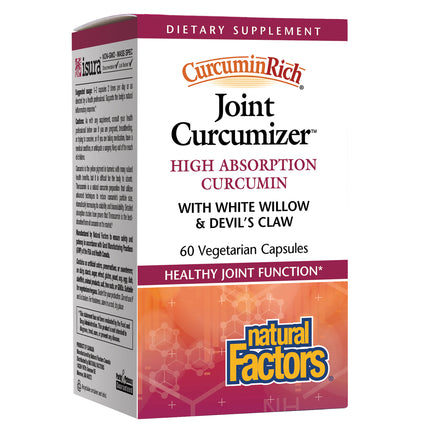 Joint Optimizer CurcuminRich by Natural factors - 60 Capsules