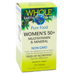 Natural Factors Womens 50 Plus Multivitamin and Mineral - 120 Tablets