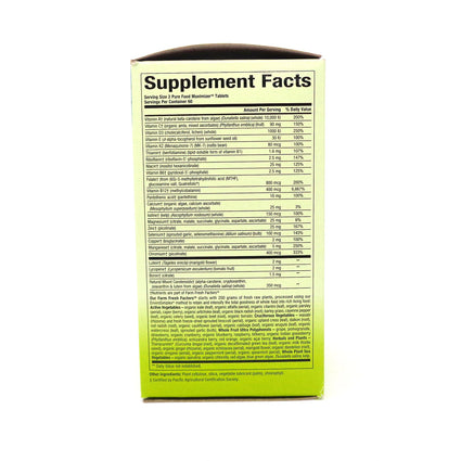 Natural Factors Men's Multivitamin and Mineral - 120 Tablets