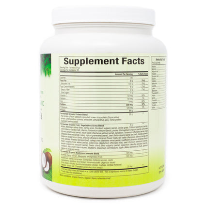 Natural Factors Protein and Greens Tropical - 20 Servings