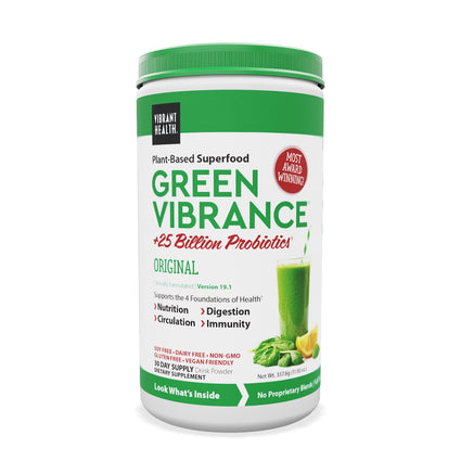 Green Vibrance By Vibrant Health - 30 Servings