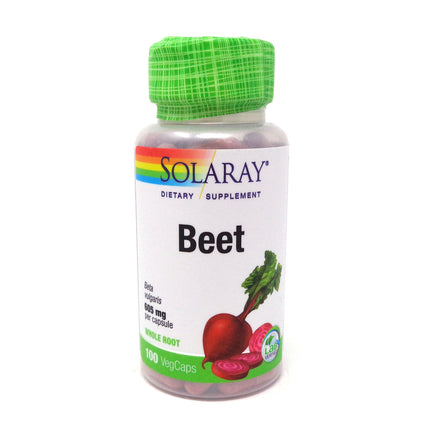 Beet Root 605 mg By Solaray - 100  Capsules