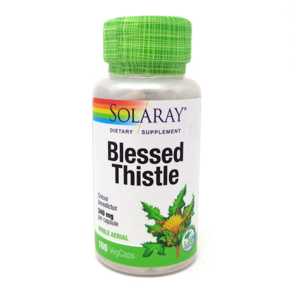 Blessed Thistle 340 mg By Solaray - 100 Capsules