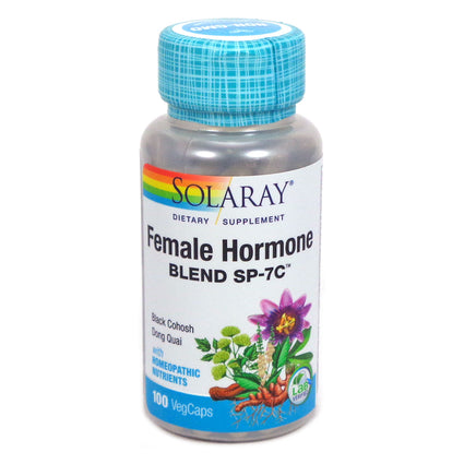 Female Hormone Blend SP-7C By Solaray - 100 Capsules