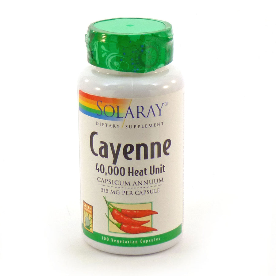 Cayenne by Solaray - 100 Capsules