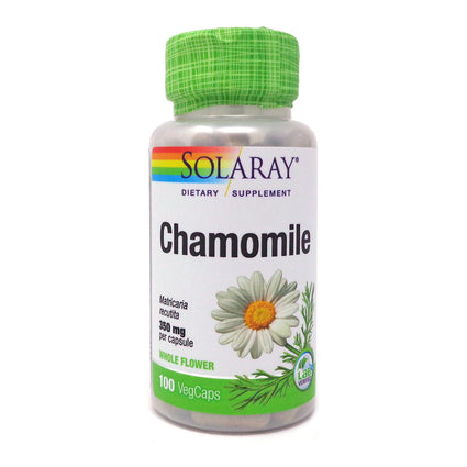Chamomile 350 mg By Solaray - 100 Capsules