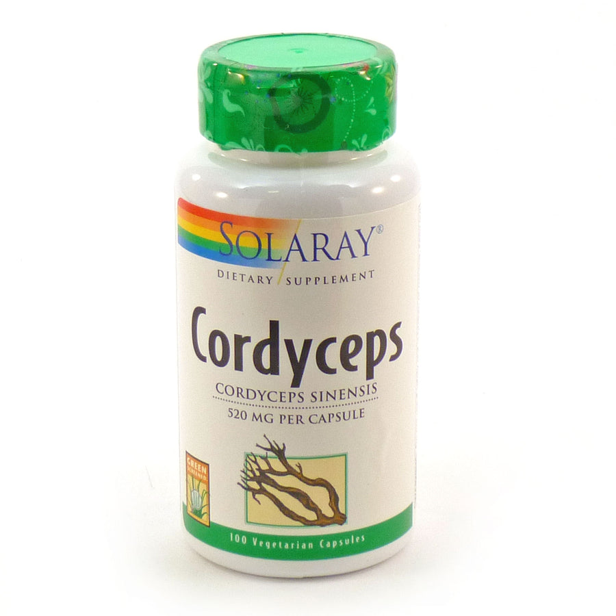 Cordyceps 520 mg By Solaray - 100 Capsules