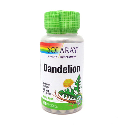 Dandelion Root 520 mg By Solaray - 100  Capsules