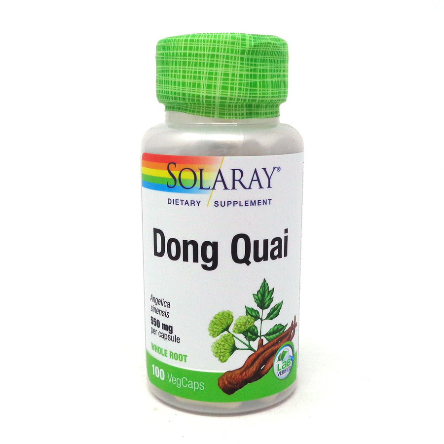 Dong Quai 550 mg By Solaray - 100 Capsules