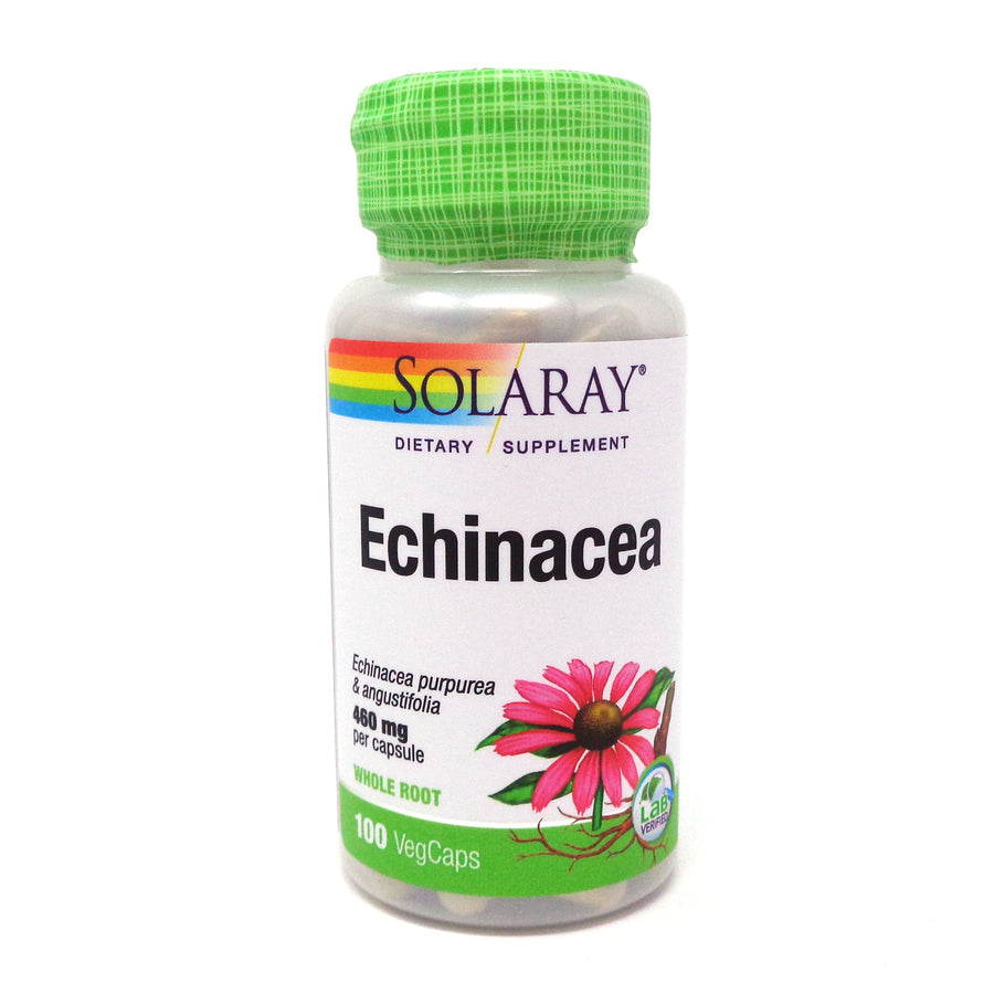 Echinacea purpurea angustifolia 460 mg By Solaray - 100  Capsules