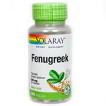 Fenugreek Seeds 620 mg By Solaray - 100 Capsules