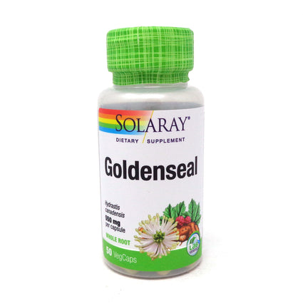 Goldenseal Root 550 mg By Solaray - 50  Capsules