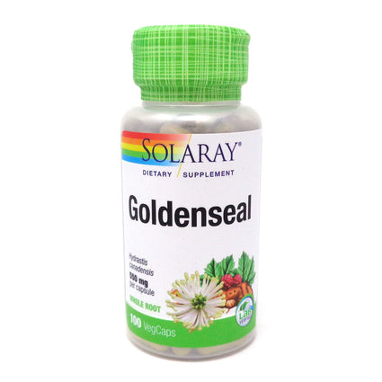Goldenseal Root 550 mg By Solaray - 100  Capsules