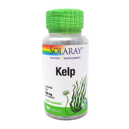 Kelp 640 mg By Solaray - 100 Capsules
