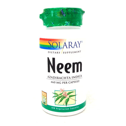 Neem 475 mg By Solaray - 100  Capsules