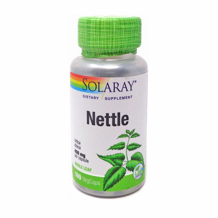 Nettle Leaves 450 mg By Solaray - 100  Capsules