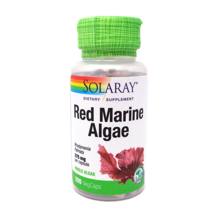 Red Marine Algae 375 mg By Solaray - 100 Capsules