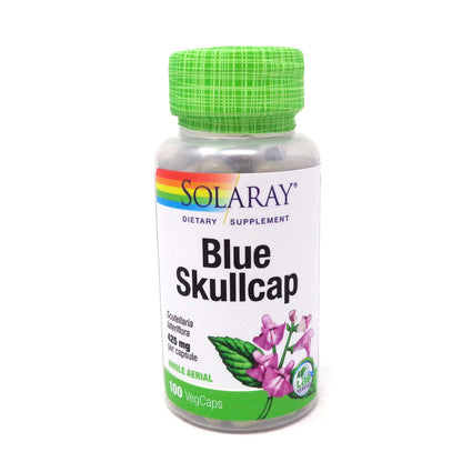 Skullcap 425 mg By Solaray - 100  Capsules
