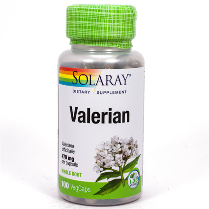 Valerian Root by Solaray - 100 Capsules