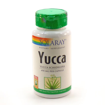 Yucca 490 mg By Solaray - 100  Capsules