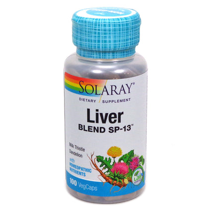Liver Blend SP-13 By Solaray - 100  Capsules