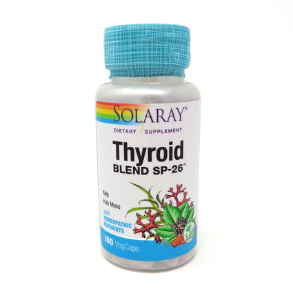 Thyroid Blend SP-26 By Solaray - 100  Capsules