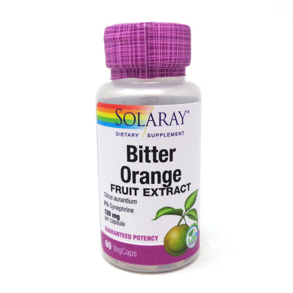 Bitter Orange Extract 120 mg By Solaray - 60  Capsules
