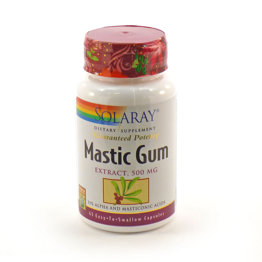 Mastic Gum Extract by Solaray - 45 Capsules