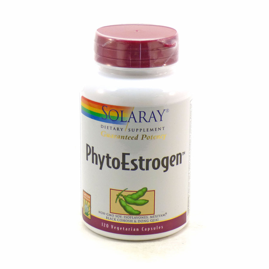 PhytoEstrogen By Solaray - 120 Vegetable Caps