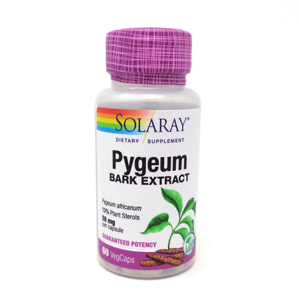 Pygeum Africanum Extract 50 mg By Solaray - 60 Capsules