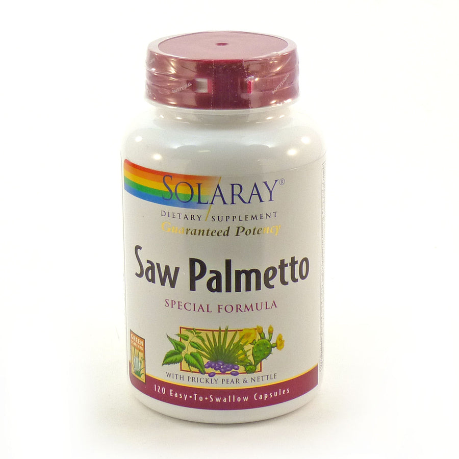 Saw Palmetto Special Formula By Solaray - 120  Capsules