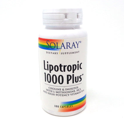 Lipotropic 1000 Plus By Solaray - 100  Capsules