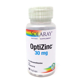 OptiZinc 30 mg By Solaray - 60 Capsules