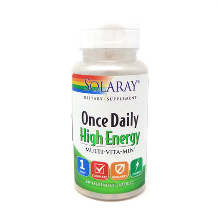 Once Daily High Energy Multi-Vita-Min By Solaray - 60 Capsules