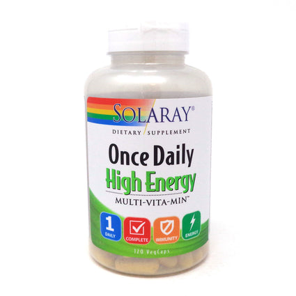 Once Daily High Energy By Solaray - 120  Capsules