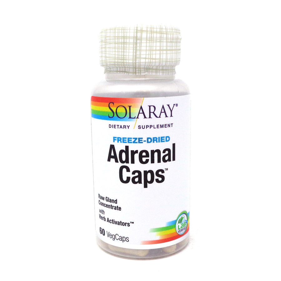 Adrenal Caps 170 mg By Solaray - 60  Capsules