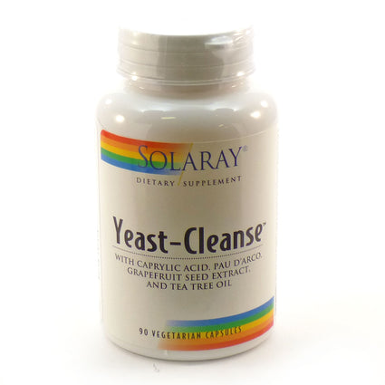 Yeast-Cleanse By Solaray - 90 Vegetable Caps