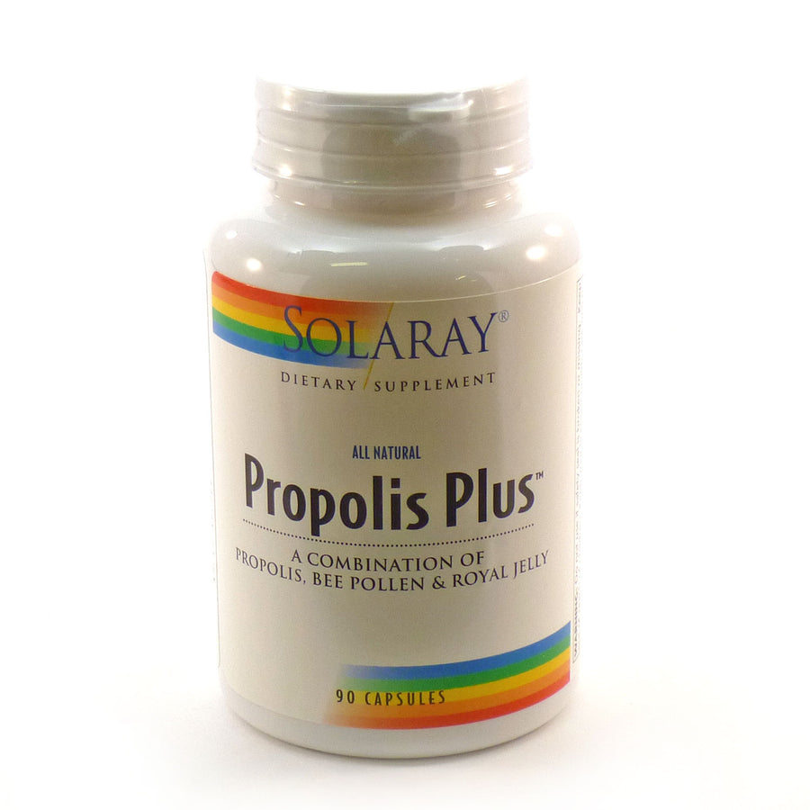 Propolis Plus By Solaray - 90 Capsules