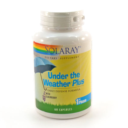 Under the Weather Plus By Solaray - 60 Capsules