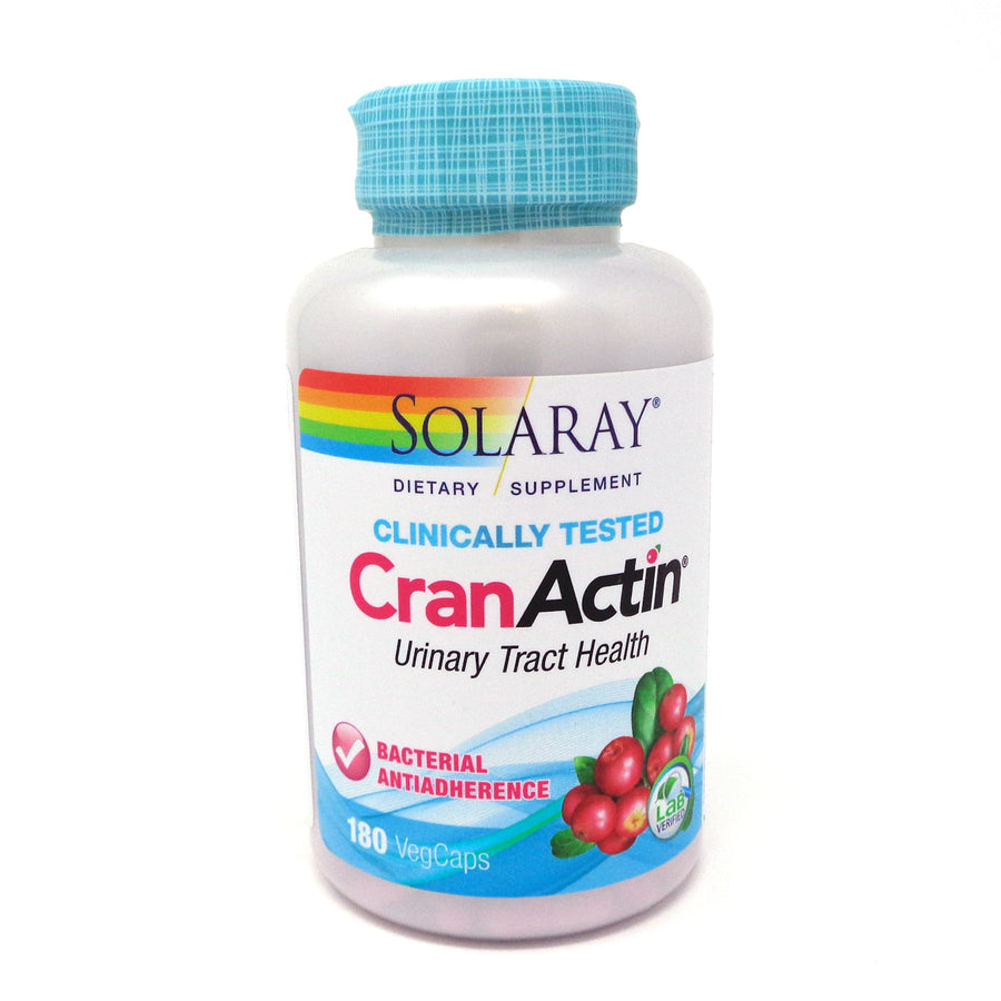 CranActin Cranberry AF Extract By Solaray - 180  Vegetable Caps