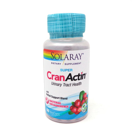 Super CranActin By Solaray - 60 Capsules Cranberry
