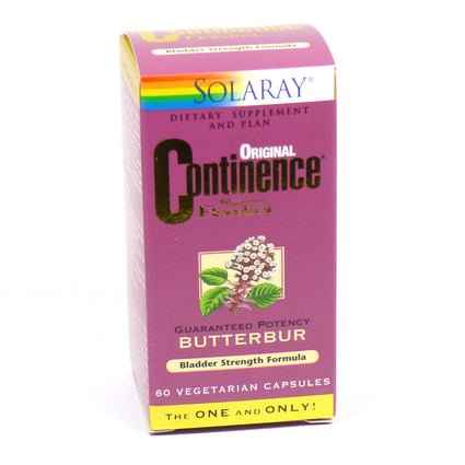 Continence with Flowtrol By Solaray - 60 Capsules