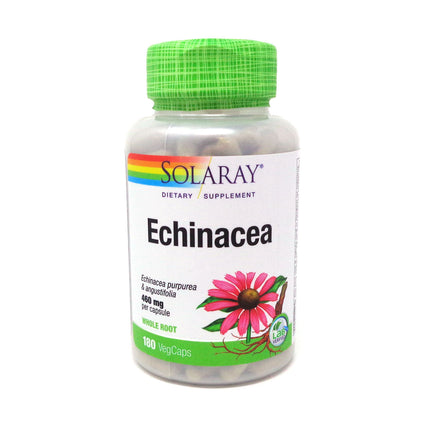 Echinacea purpurea angustifolia 460 mg By Solaray - 180  Capsules