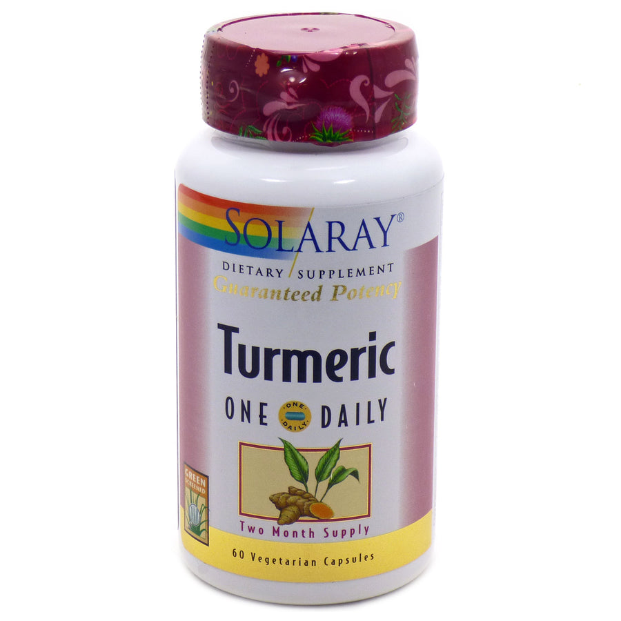 Turmeric One Daily by Solaray - 60 Capsules